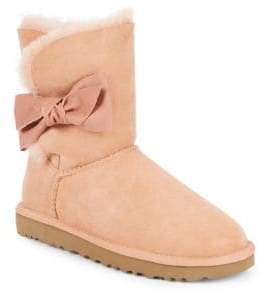 UGG Daelynn Shearling Suede Boots