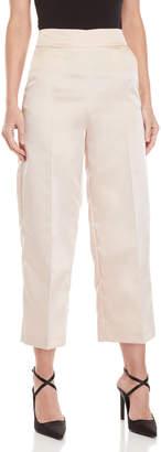 Blugirl Satin Flat Front Pants