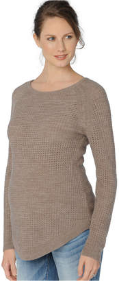 A Pea in the Pod Maternity Scoop-Neck Sweater