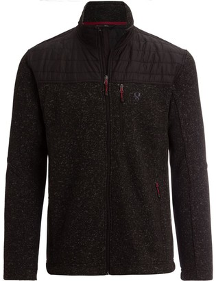 Stoic Nylon Yoke Sweater Fleece Jacket - Men's