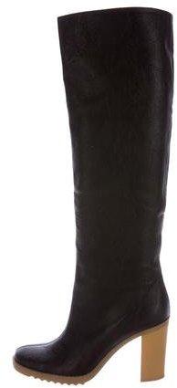 Stella McCartney Vegan Leather Knee-High Boots