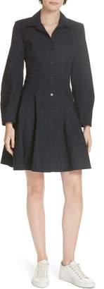 Derek Lam 10 Crosby Paneled Cotton Shirtdress