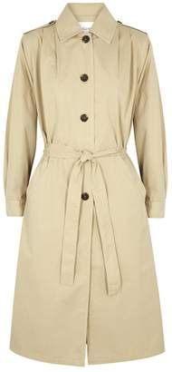 American Vintage Enkodole Sand Cotton Trench Coat