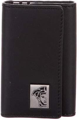Versace Leather Key Wallet w/ Tags