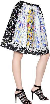 Peter Pilotto Emma Waffle Silk Skirt