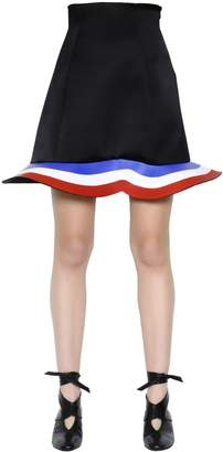 J.W.Anderson Stretch Wool & Viscose Scuba Skirt