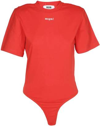 MSGM Logo Bodysuit