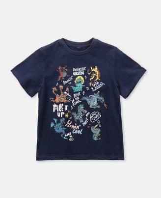Stella McCartney Dragons Cotton T-Shirt, Men's