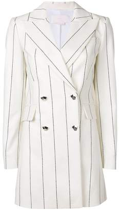 Genny double breasted pinstripe jacket
