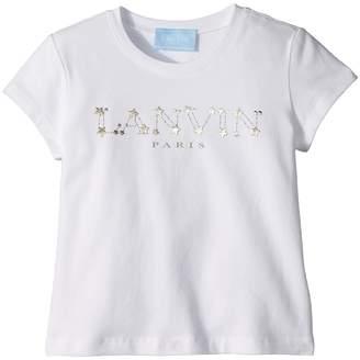 Lanvin Kids Star Logo T-Shirt Girl's T Shirt