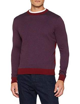 Benetton Men's Sweater L/s Sweatshirt,X-Large