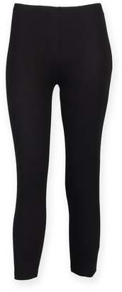 S+F Skinni Fit SF Womens/Ladies 3/4 Training / Fitness Sports Leggings