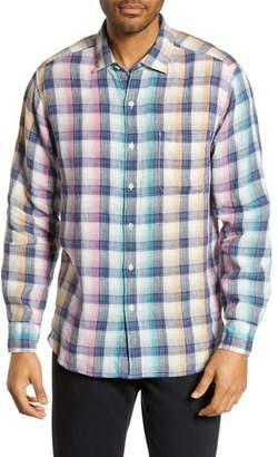 Tommy Bahama Polynesian Plaid Classic Fit Shirt