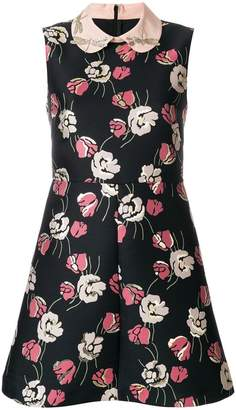 RED Valentino floral printed dress