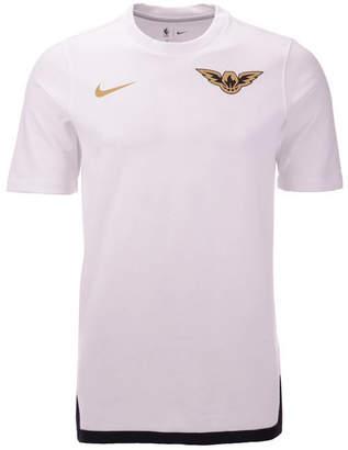 Nike Men Atlanta Hawks City Edition Shooting T-Shirt