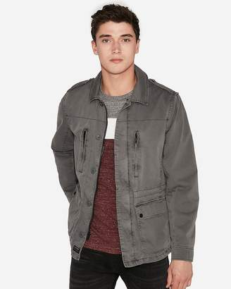 Express Cotton Shirt Jacket