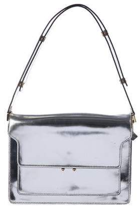 Marni Trunk Box Metallic Shoulder Bag
