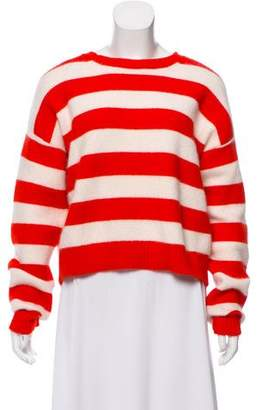 Diane von Furstenberg Striped Angora Sweater