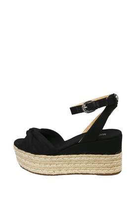 Michael Kors Black Wedge Sandal