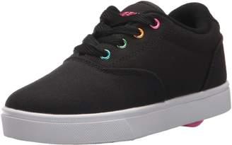 Heelys Kids Launch Running Shoes, Black/Neon Pink/White