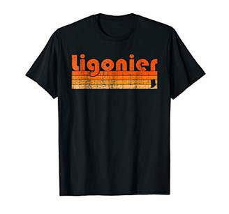 Retro 80s Style Ligonier IN T-Shirt