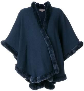 N.Peal trim detail cape
