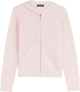 Juicy Couture Paradise Velour Hoodie $195 thestylecure.com