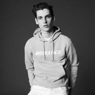 Sandro Romance flocked sweatshirt