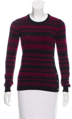 Theory Cashmere Striped Sweater