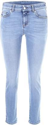 Alexander McQueen Vintage Embroidered Jeans