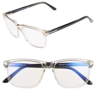 Tom Ford 56mm Blue Block Optical Glasses