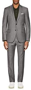 Barneys New York Men's Lotus Worsted Wool Two-Button Suit-Gray