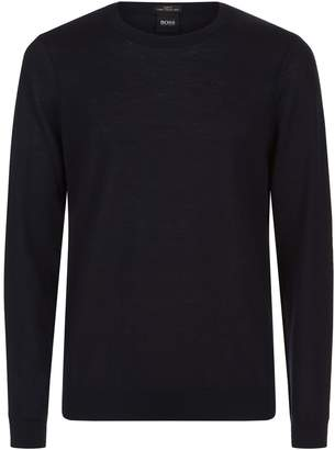 HUGO BOSS Fine Knit Wool Sweater