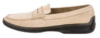 Tod's Suede Dress Loafers