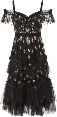 Needle & Thread Lustre Cami Midi Dress