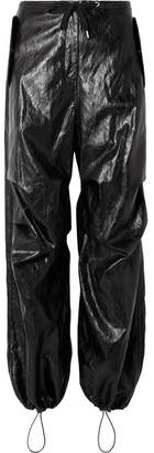 Alexander Wang Faux Leather Pants - Black