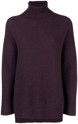 Fabiana Filippi draped turtle-neck sweater
