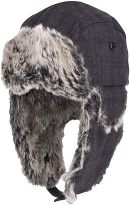 Dockers Faux Fur-Trim Trapper Hat