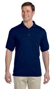 Gildan 8900 50/50 Pocket Jersey Polo - Sports Grey - M