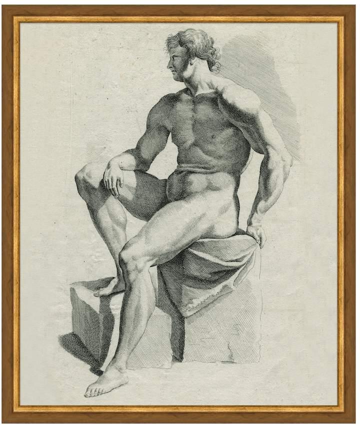 Soicher Marin Nude Male by Soicher Marin (Framed Giclee)