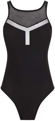 adidas Mesh Cut-Out Swimsuit