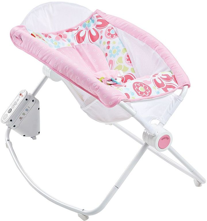 Fisher-Price Newborn Floral Confetti Auto Rock 'n Play Sleeper