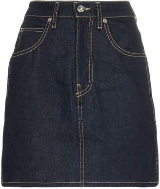 Eve Denim Tallulah high waisted cotton skirt