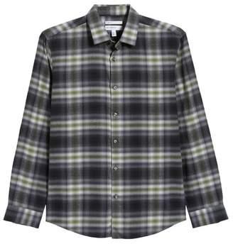 Calibrate Plaid Flannel Sport Shirt