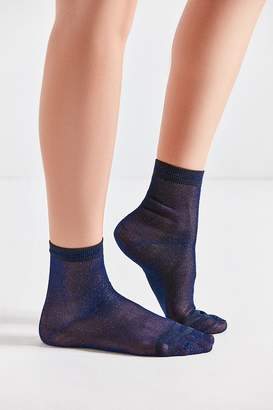 Out From Under Lurex Crew Sock