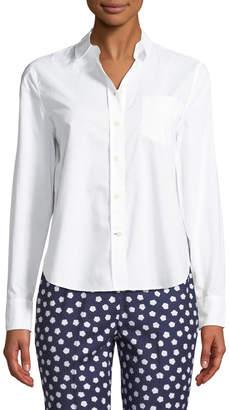 Kate Spade broome street delicate poplin shirt