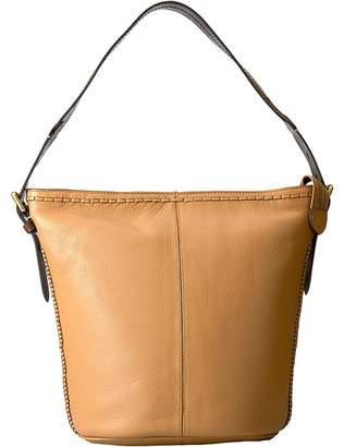 Cole Haan Loralie Whipstitch Bucket Hobo Hobo Handbags