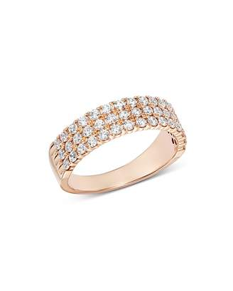 Bloomingdale's Diamond Three Tier Band in 14K Rose Gold, 0.75 ct. t.w. - 100% Exclusive