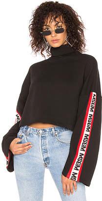 MSGM Logo Band Sweatshirt