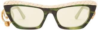 Acne Studios Dielle temple-hoop sunglasses